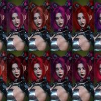 dForce Xariah Dual Ponytails Hair for Genesis 8 Female(s ...