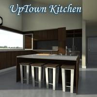 Up Town Kitchen Daz 3d