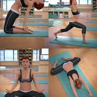 beginning and advanced yoga poses for genesis 8 female
