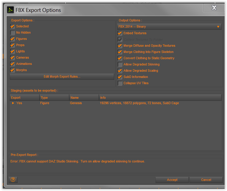 Animated / Rigged SubD export - Daz 3D Forums