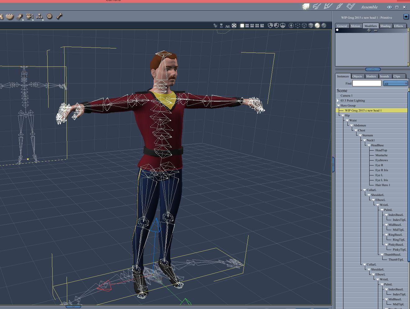 Carrara Characters - Daz 3D Forums