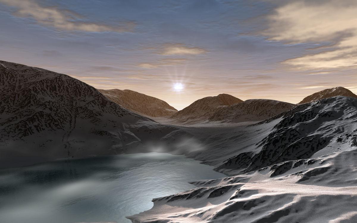 Sunrise over Pass