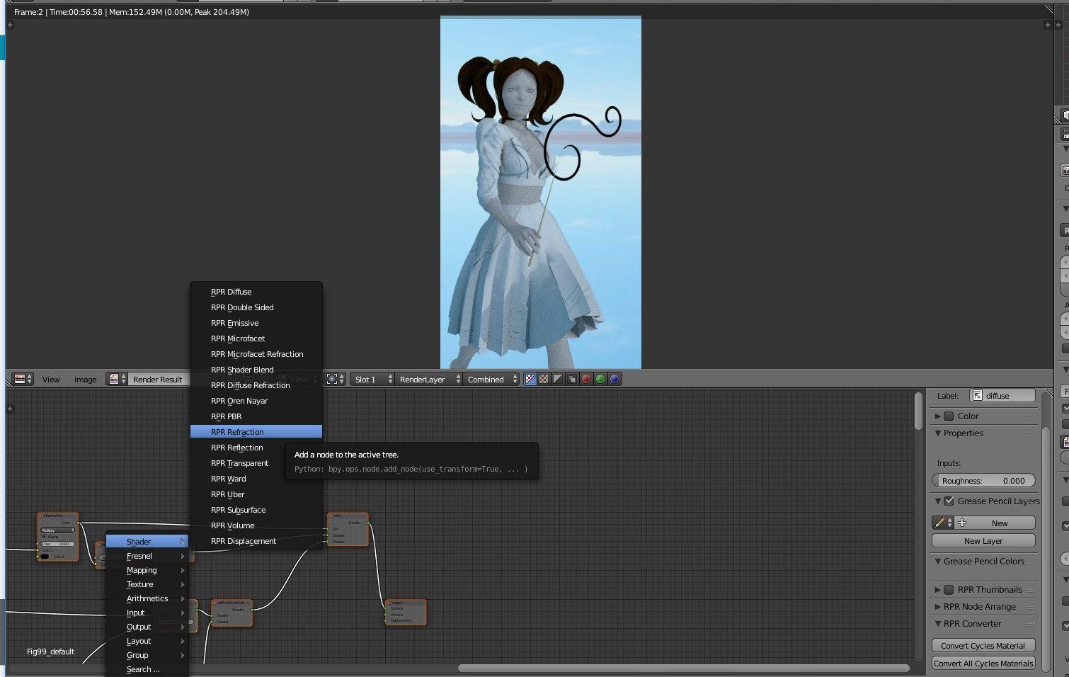 mcjTeleBlender:Daz Studio scenes/animations w/Blender's Cycles