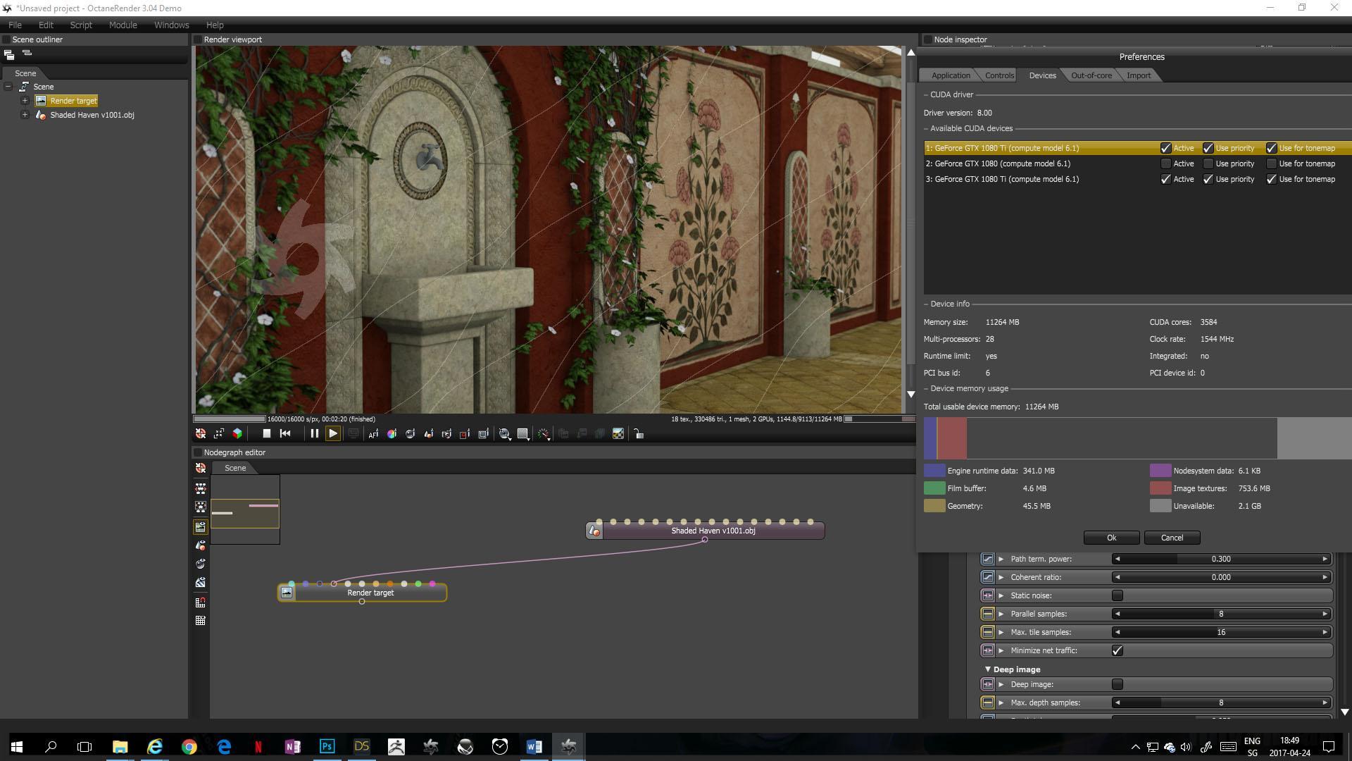 Quick Guide: Export scene from DAZ Studio to OctaneRender Demo to