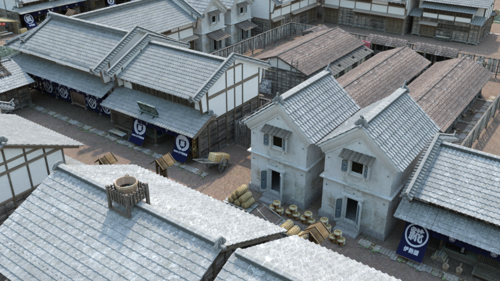 Old Japanese Town Edo Vol 5 - Daz 3D Forums