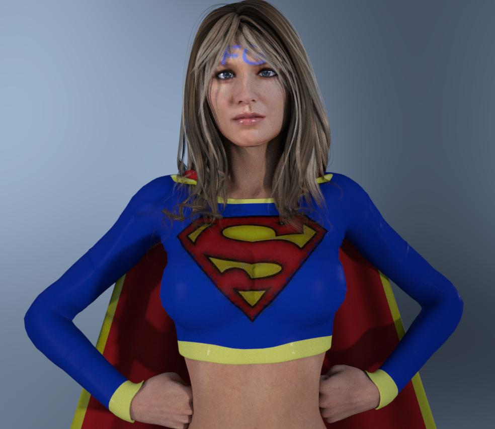 Supergirl By Victoria: Hi I Am Trying To Make Supergirl This Pic Is What She