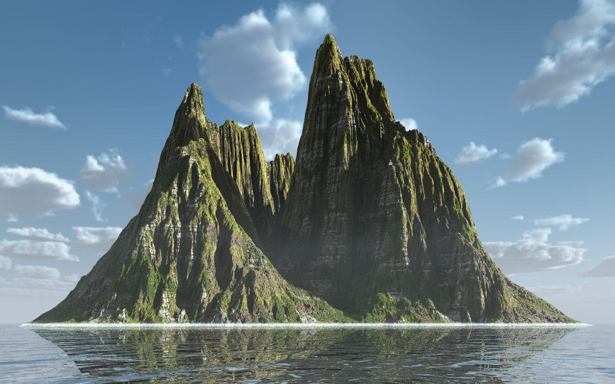 Gashed Isle
