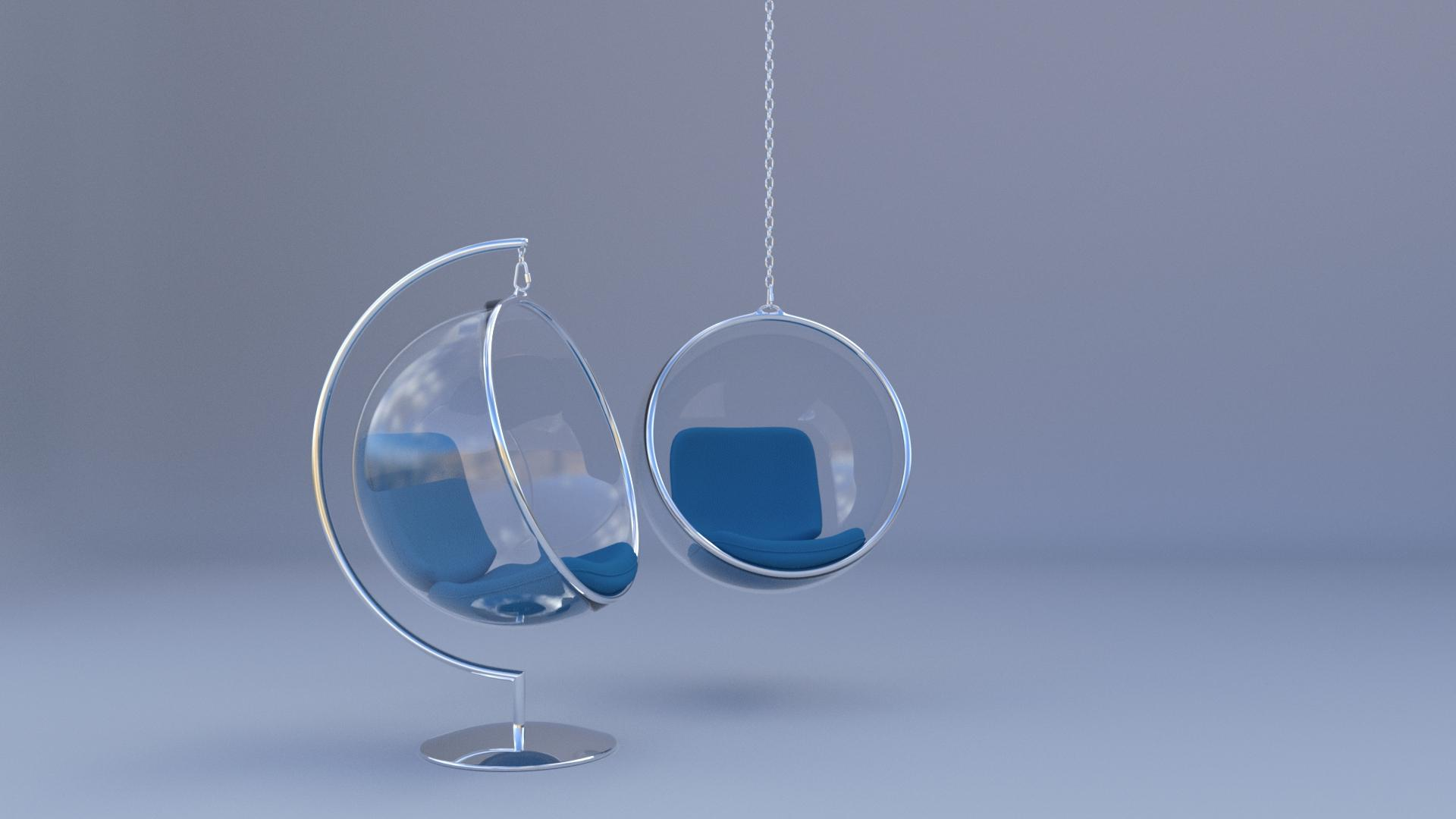 glass bubble chair