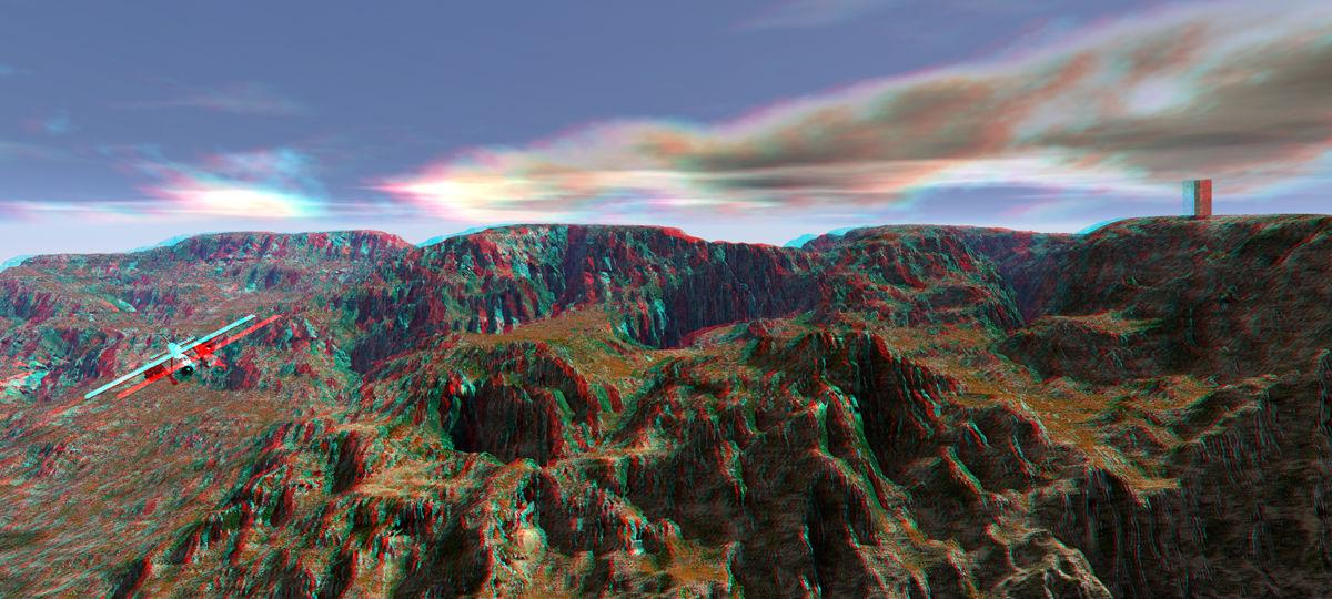 Fussured Anaglyph