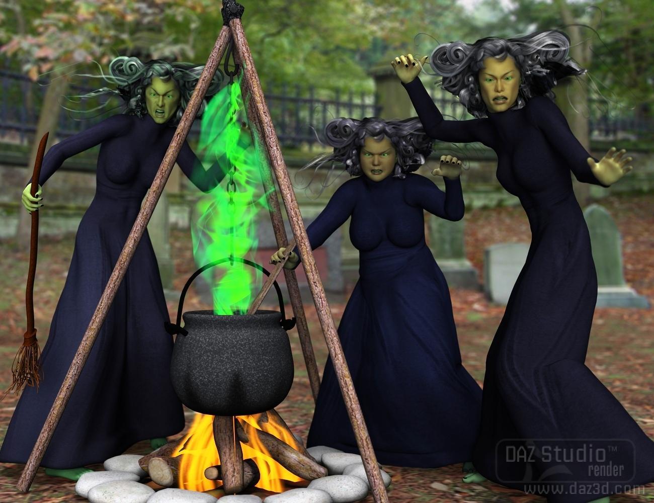 Witches cauldron как сделать