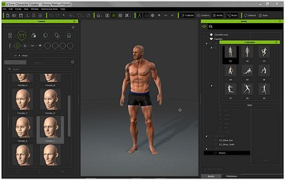 Daz -> iClone -> Daz? - Daz 3D Forums