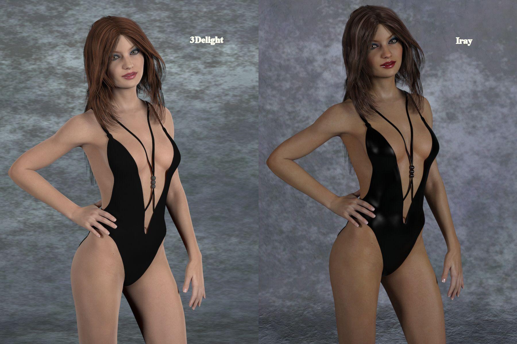casino hair for genesis 3 female