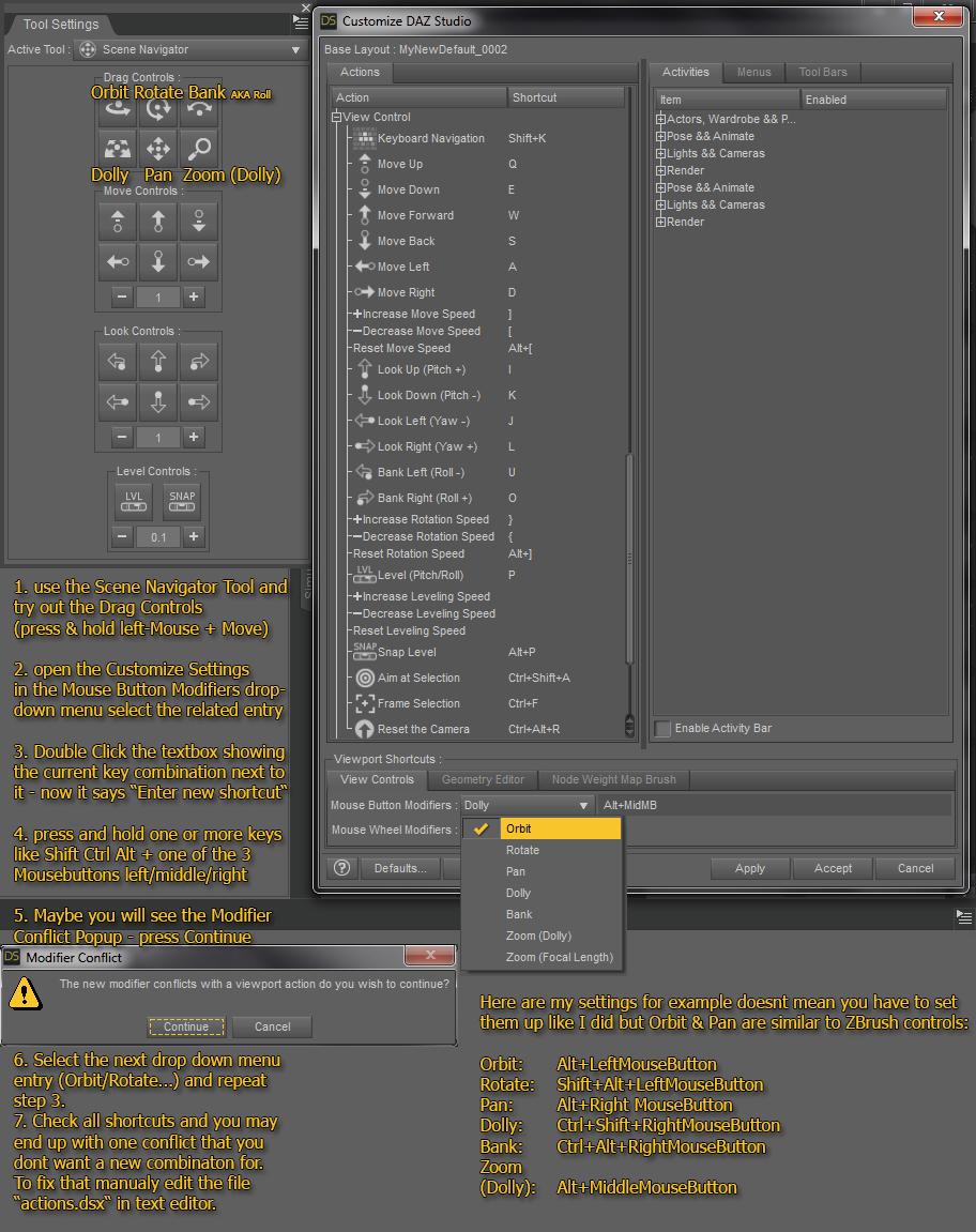 How to Customize Daz Studio - to speed up Workflow!? [WIP] - Daz 3D
