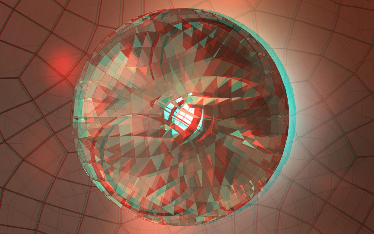 Cube Alg Sphere Anaglyph
