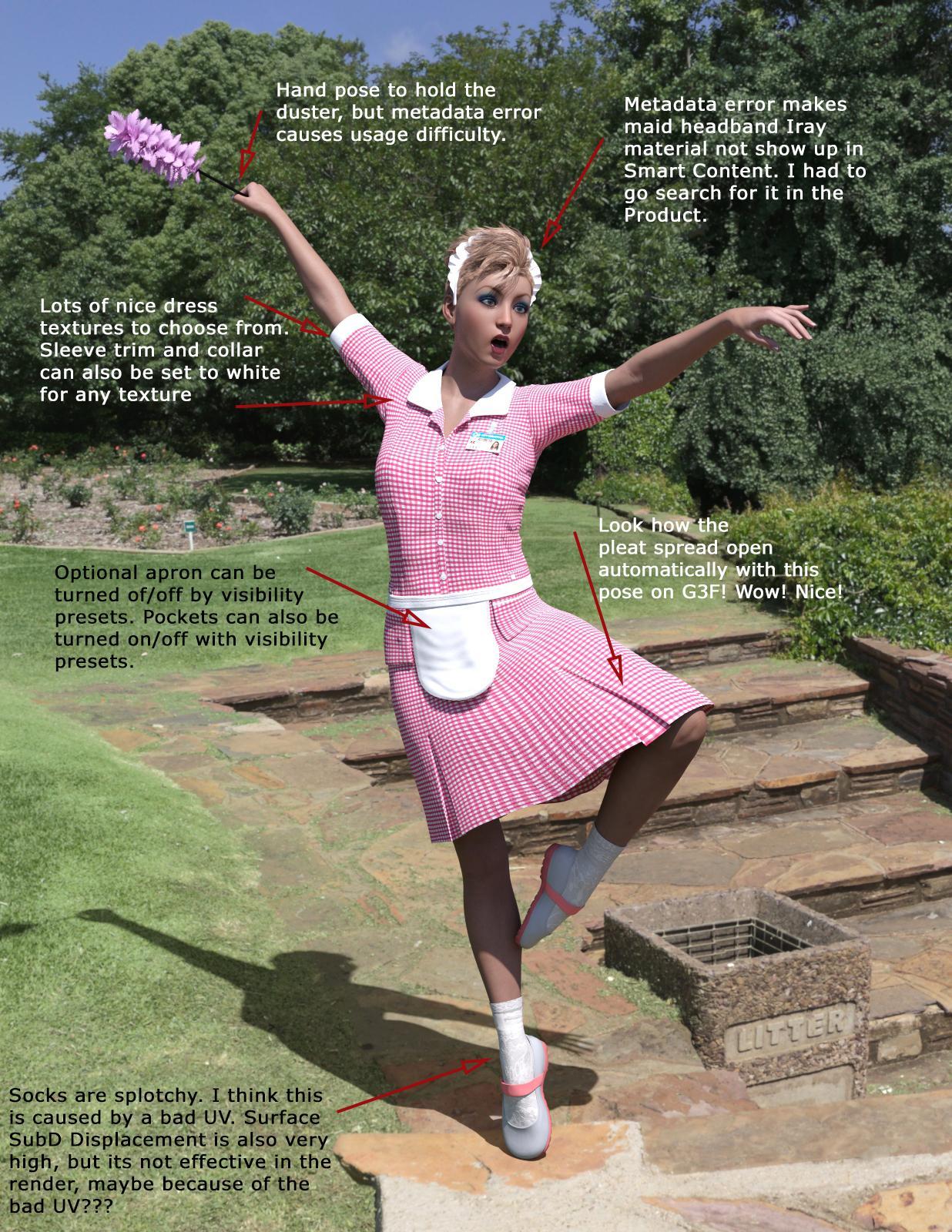Uniform Dress Maid