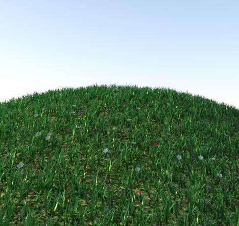 Deformer Test on Erock Grass System