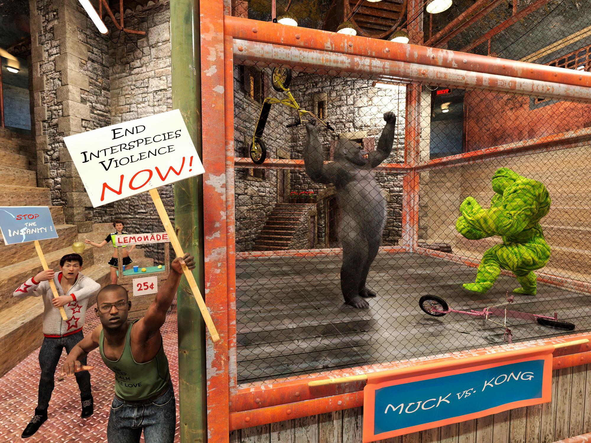 Muck vs. Kong