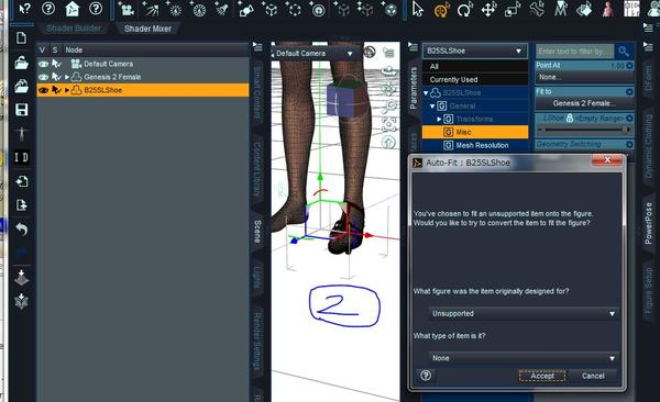 565f531ef78f How do I fit high heels to feet  - Daz 3D Forums