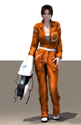 Chell From Portal 1 2 Outfit Is There One Available