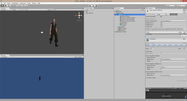 Exporting animations + char into Unity ( fbx) - Daz 3D Forums