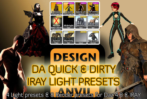 Tips & Tricks for Iray for newbies       - Page 6 - Daz 3D